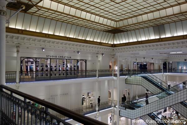 パリのデパート ボンマルシェ