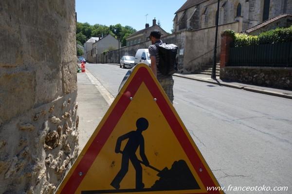 フランス 工事