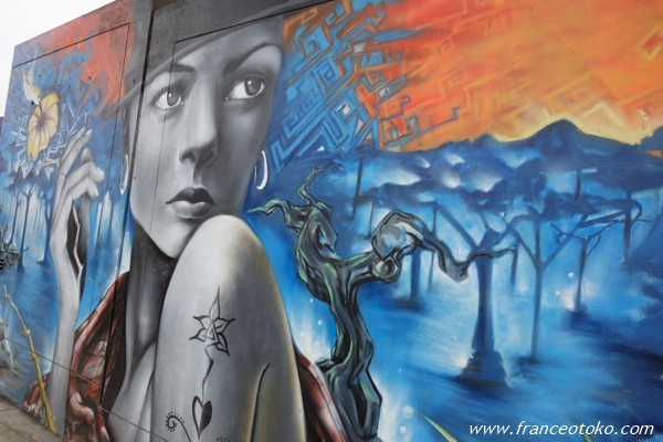 ペルー リマ ストリートアート