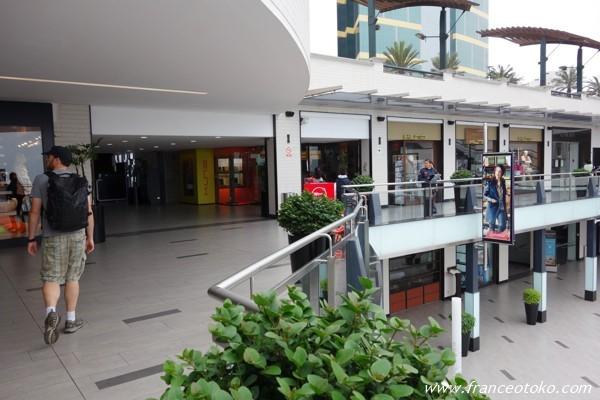 ペルー リマ ミラフローレス ショッピングモール ラルコマール