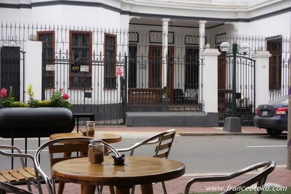 ペルー リマ カフェ PUKUPUKU Peru Lima