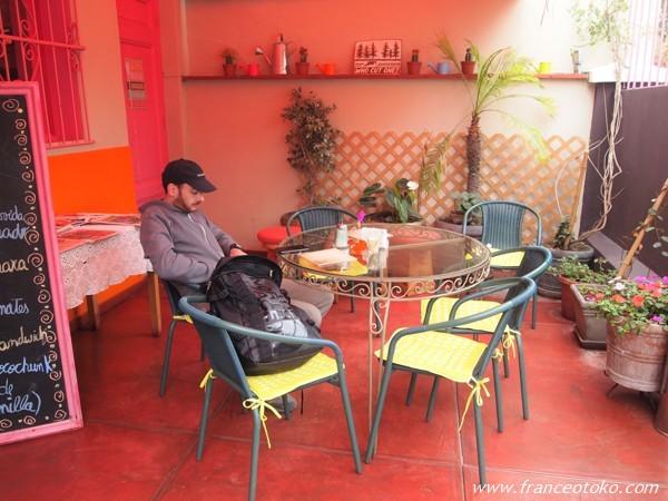 ペルー リマ カフェ Homemade....hecho en casa