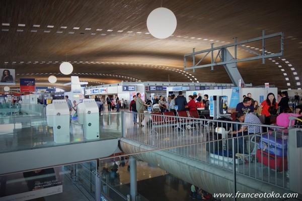 パリ空港 シャルル・ド・ゴール空港