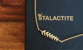 勝利の予感のフランス産アクセサリーならStalactite/ローリエのネックレス