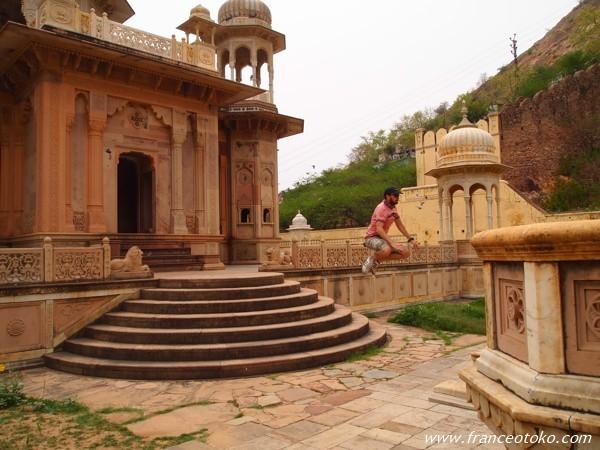 インド ジャイプール マハラジャ建築