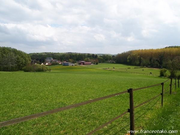 フランス 田園風景