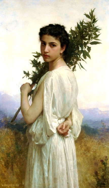 William-Adolphe_Bouguereau_(1825-1905)_-_Laurel_Branch_(1900)[1]