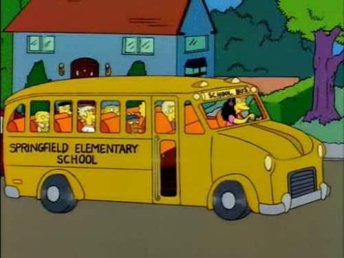 シンプソンズ スクールバス