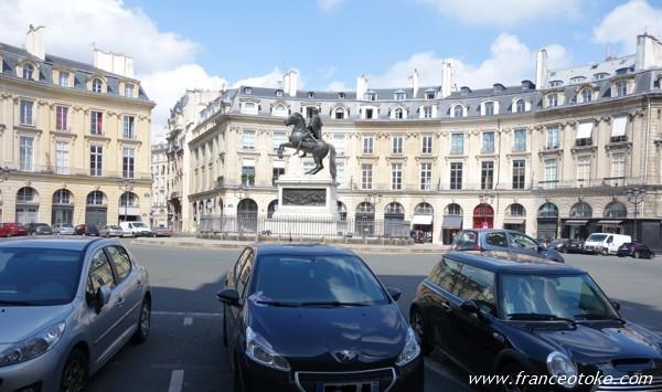 ヴィクトワール広場 Place des Victoires フランス パリ
