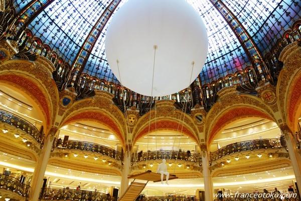 ギャラリーラファイエット パリのデパート