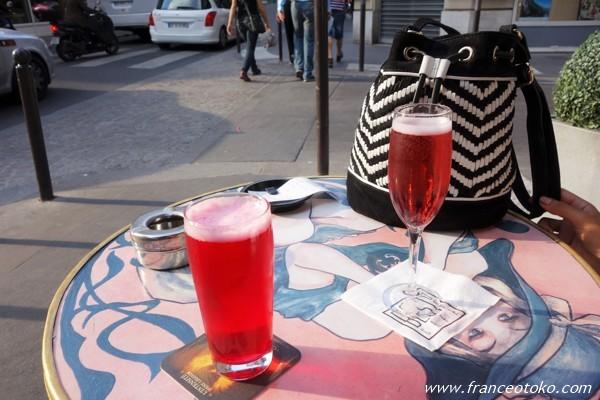 フランス シャンパン モナコ カフェ