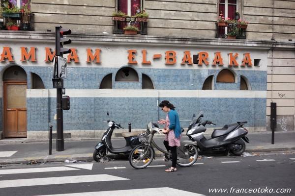 パリ 自転車