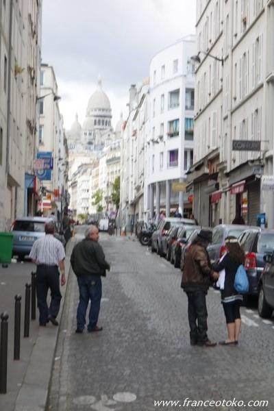 パリ モンマルトル