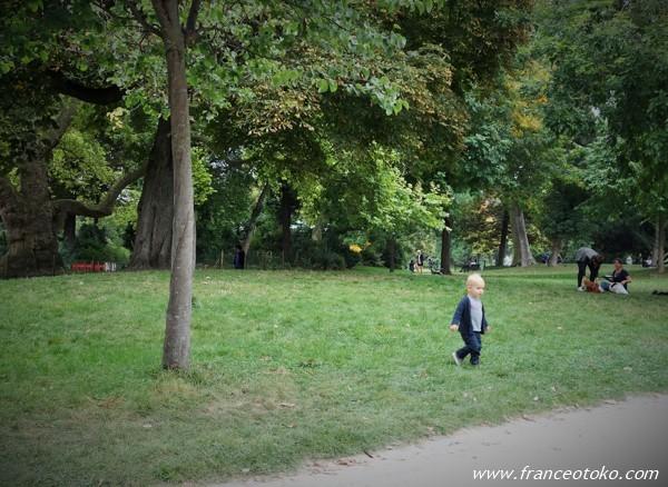 パリ モンソー公園