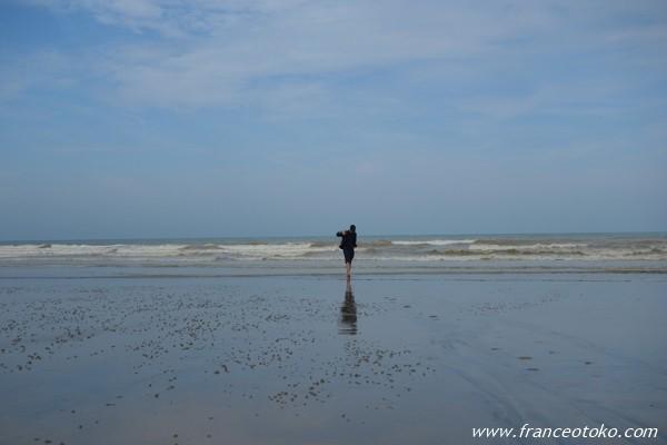ノルマンディ 海