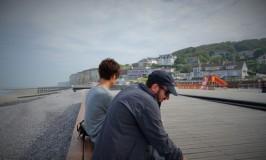 はいからな男と女のフランス・ノルマンディー海辺散策♡ヴール・レ・ローズ Veules les roses