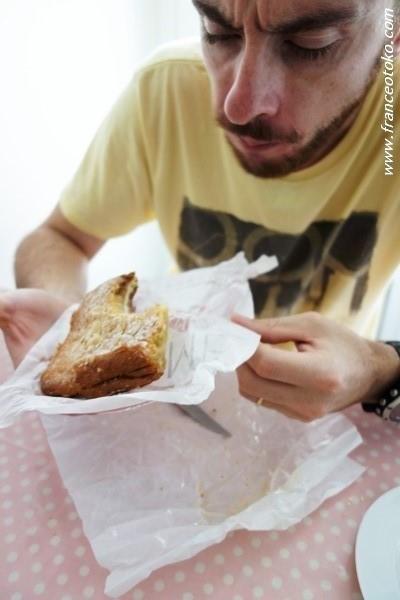 フランス男 パン