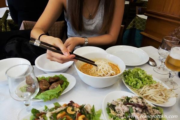 パリ 13区 レストラン