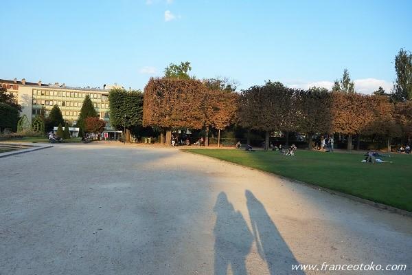 パリ 公園