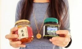 マヌカハニーで美容と体調改善&生姜蜂蜜漬、ユーカリエッセンシャルオイル