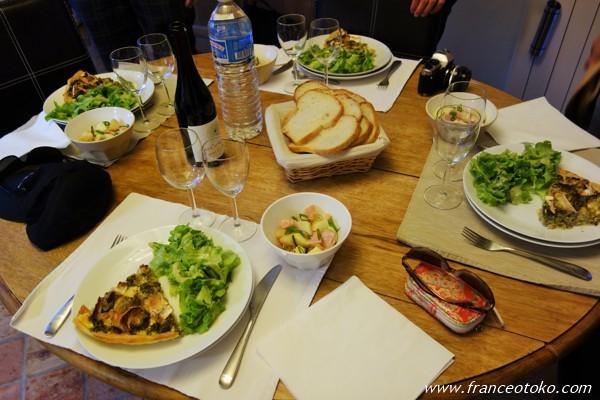 フランス 食事
