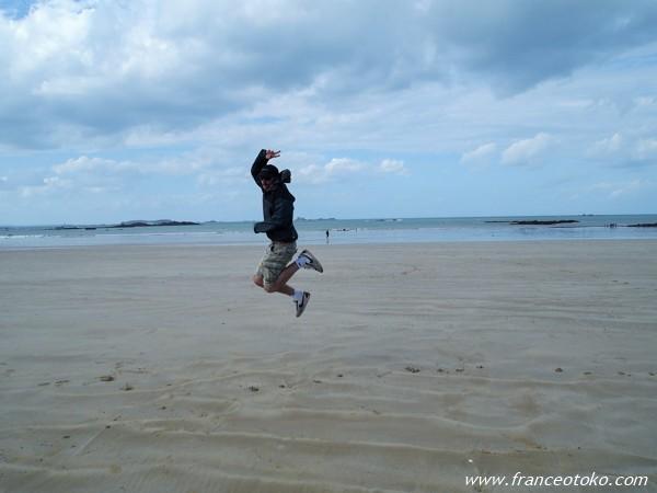 ジャンプ写真