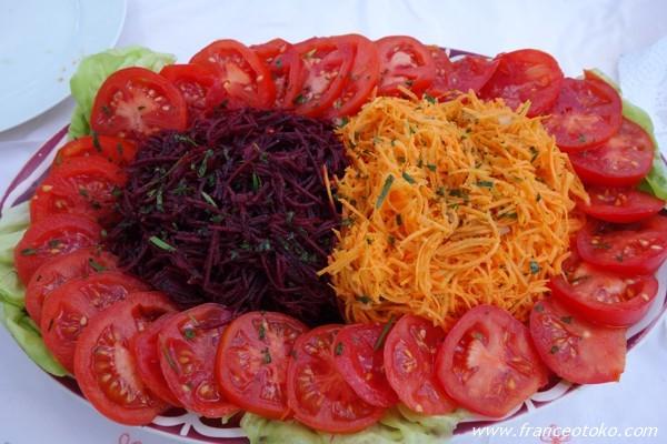 フランス サラダ