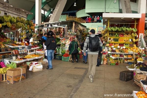 ペルー マーケット