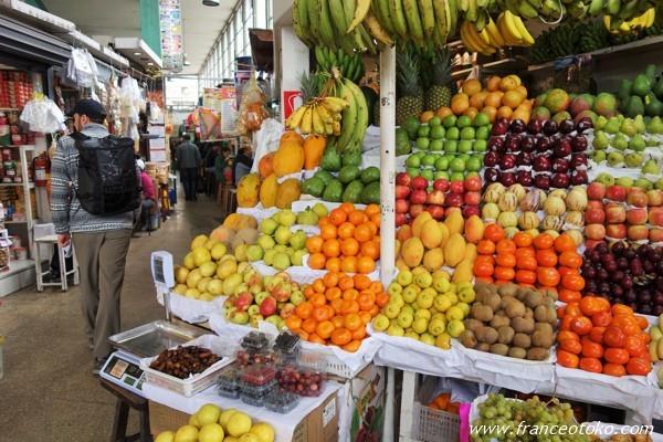 ペルー リマ マーケット