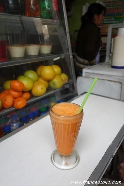 ペルー ジュース