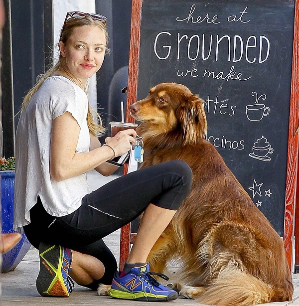 Amanda Seyfried and Finn stay grounded in NY