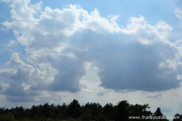 フランス 雲