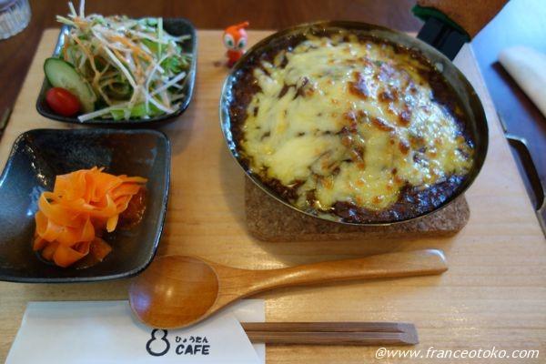 ひょうたんCAFE チーズカレー