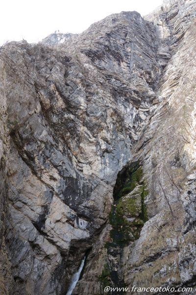 スロベニア 滝