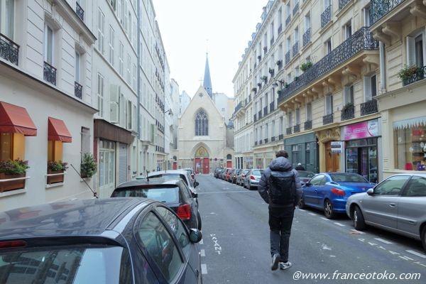 パリ サンミシェル