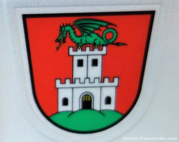 スロベニア ドラゴン 紋章