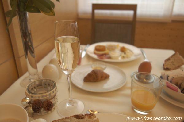スロベニア 朝ご飯