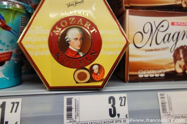 モーツァルトチョコレート