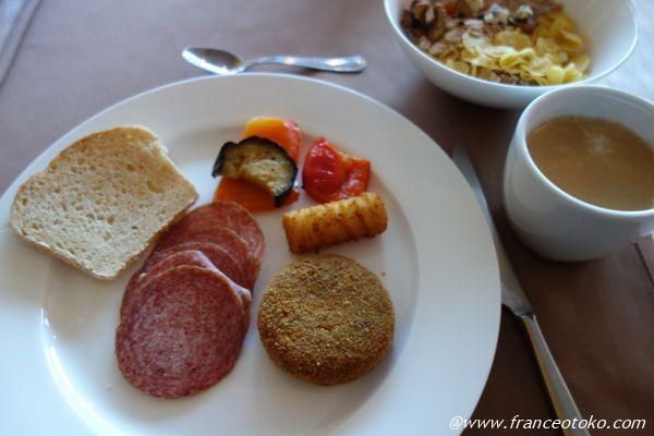 スロベニア 朝食