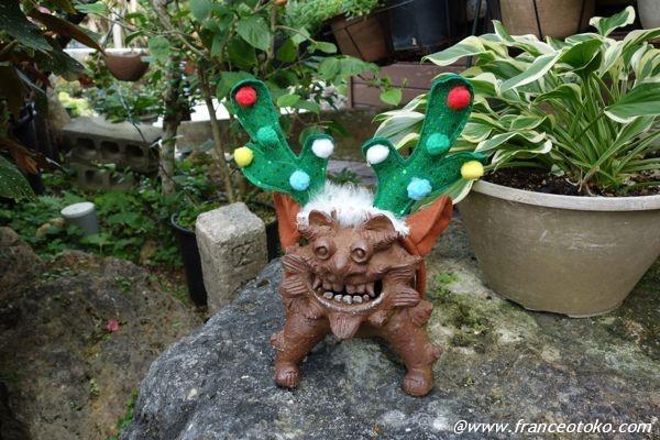 シーサー クリスマス