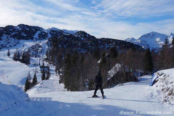 スロベニア スキー
