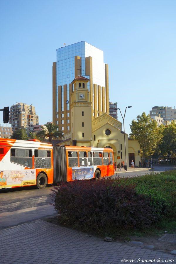 サンティアゴ バス