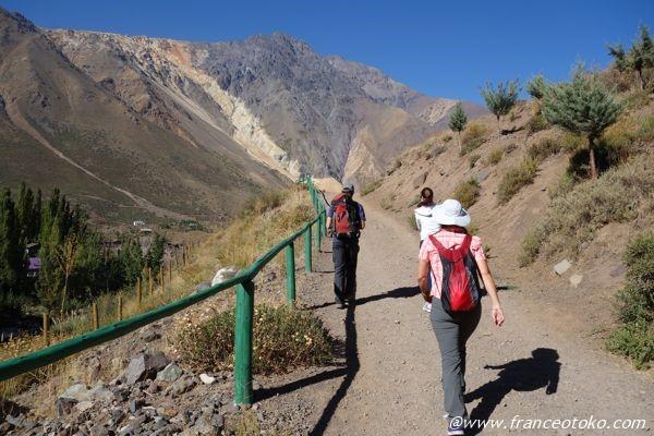 チリ 登山