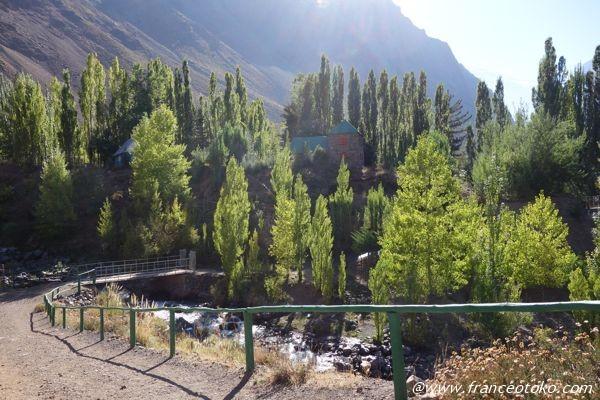 チリ マイポ谷