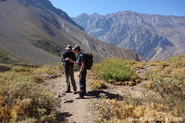 チリ 登山ガイド