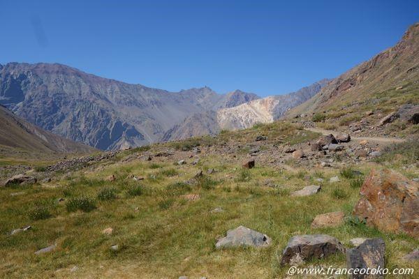 チリ 山登り