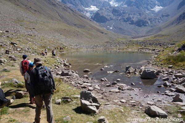 チリ 山トレッキング
