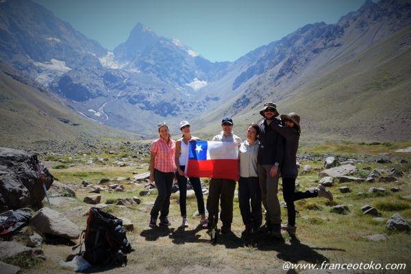 チリ 観光客