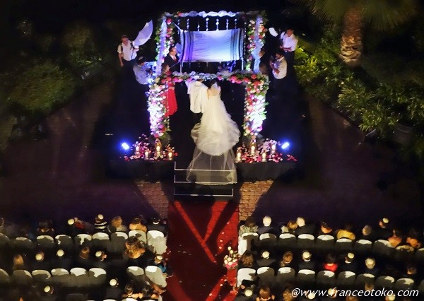 結婚式 チリ