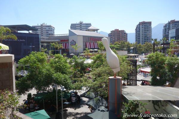 サンティアゴ ショッピングモール